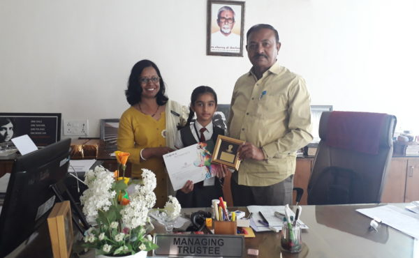 Rangotsav Colouring Competition winners for the year 2019-20